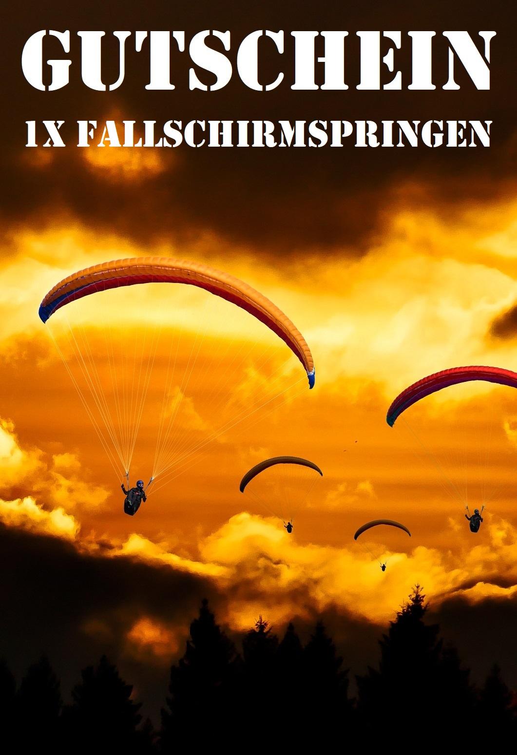 Gutscheinshop Fallschirm Sport Zentrum Hassfurt E V