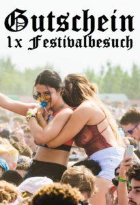 Gutscheinvorlage Festival