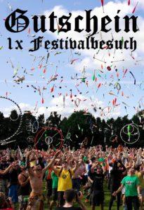 Festivalgutscheine schenken