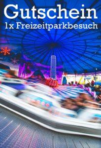 Gutscheinvorlage Freizeitpark