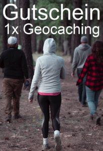 Gutscheinvorlage Geocaching