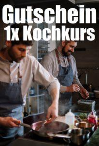 Gutscheinvorlage Kochkurs