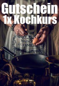 Gutscheinvorlage Kochkurse