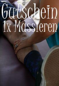 Massagegutschein schenken