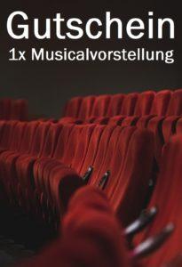 Gutscheinvorlage Musical