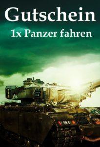 Gutscheinvorlage Panzer fahren