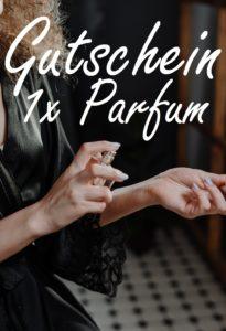 Gutscheinvorlage Parfüm