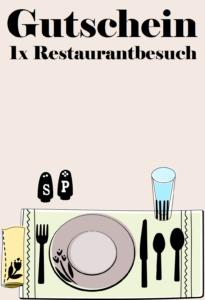Restaurantgutscheine schenken