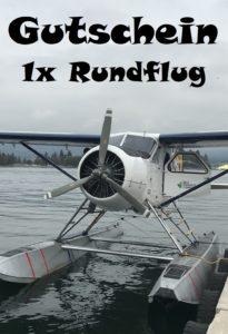Gutscheinvorlage Rundflug