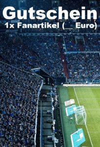 Gutscheinvorlage Schalke 04 Fanartikel