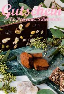 Gutscheinvorlage individuelle Schokolade