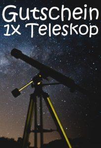 Teleskopgutschein schenken