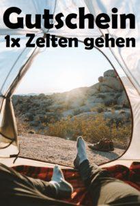 Gutscheinvorlage Camping