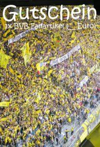Gutscheinvorlage BVB Fanartikel