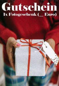 Gutscheinvorlage Fotogeschenke