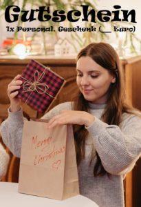 Gutscheinvorlage Geschenke