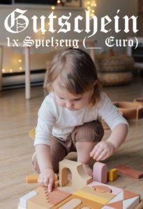 Spielzeuggutschein schenken