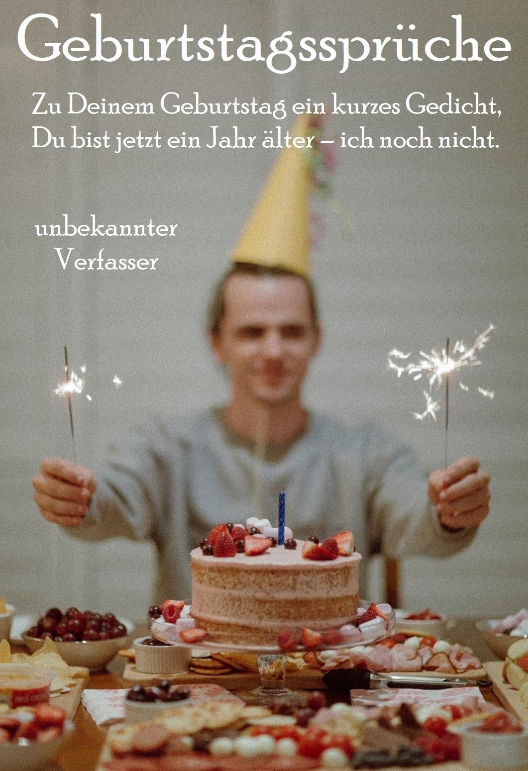 Geburtstagsspruch verwenden