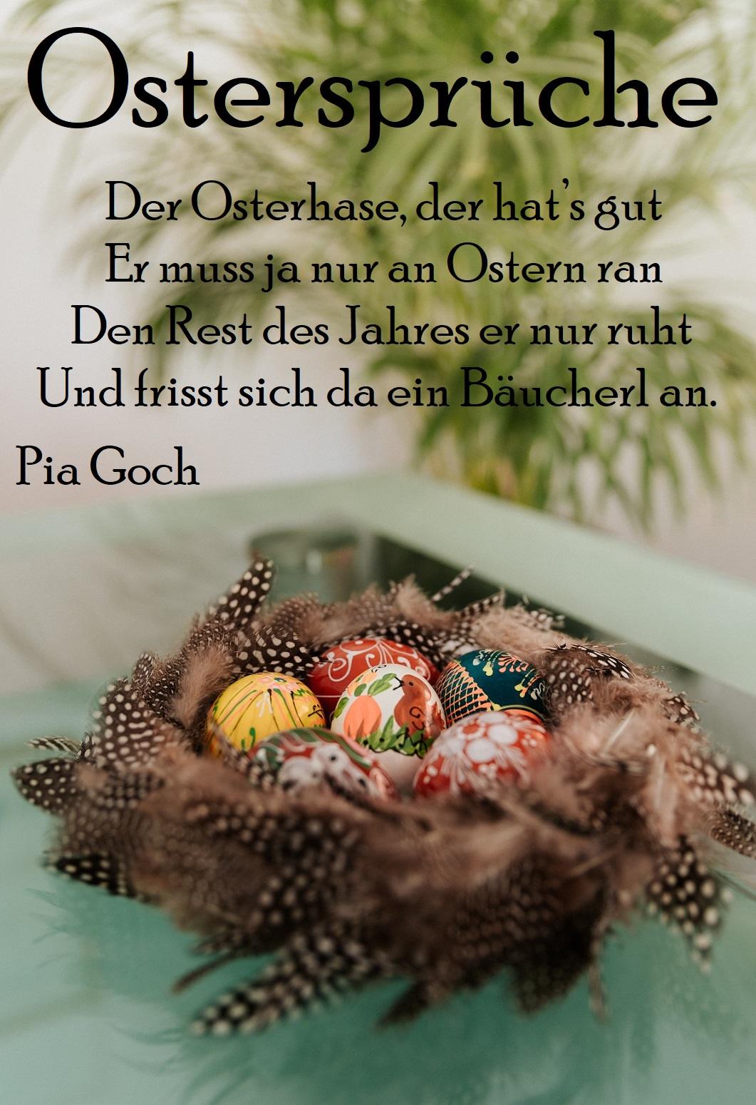 Ostersprüche verwenden
