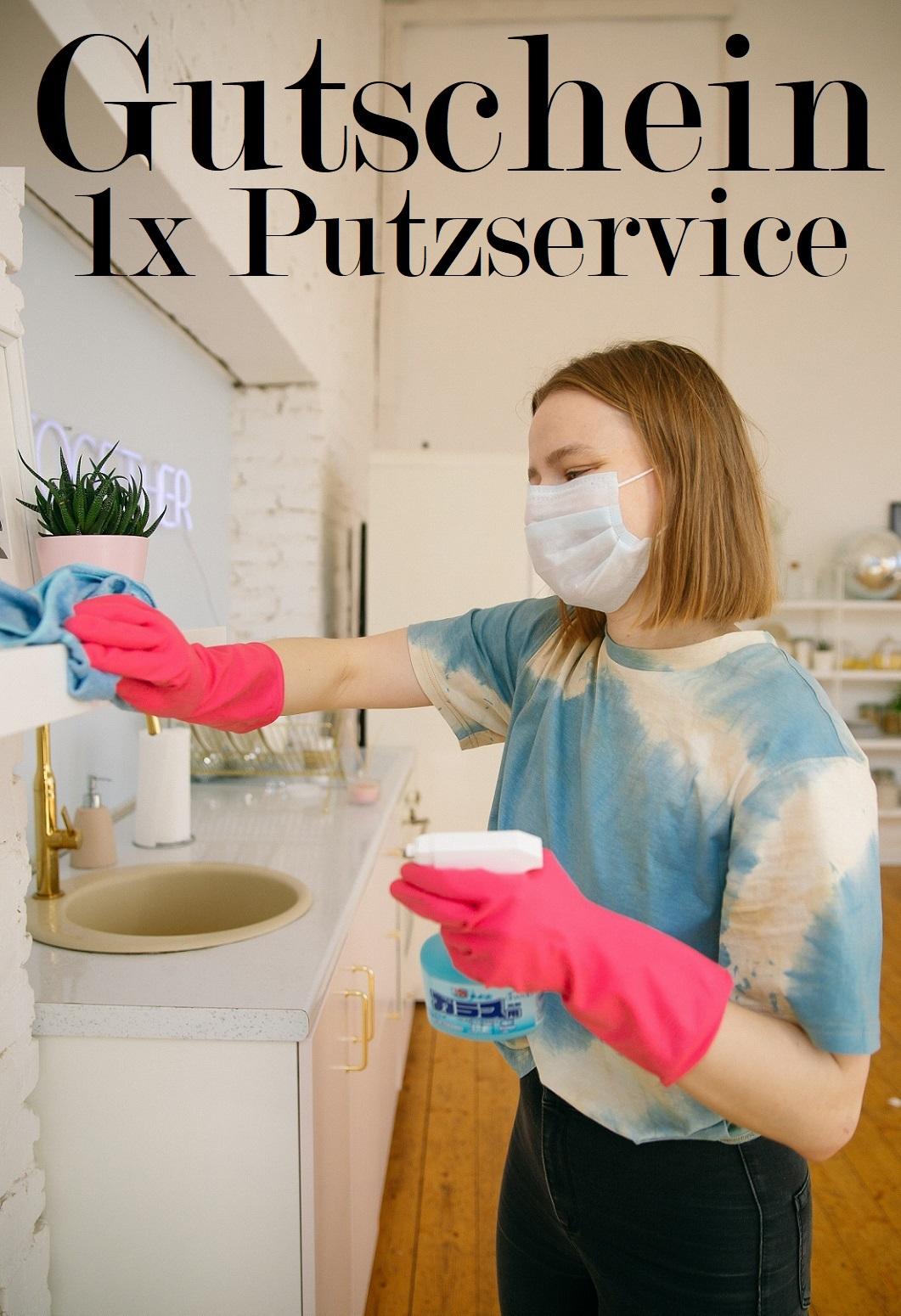 Gutscheinvorlage fürs Putzen