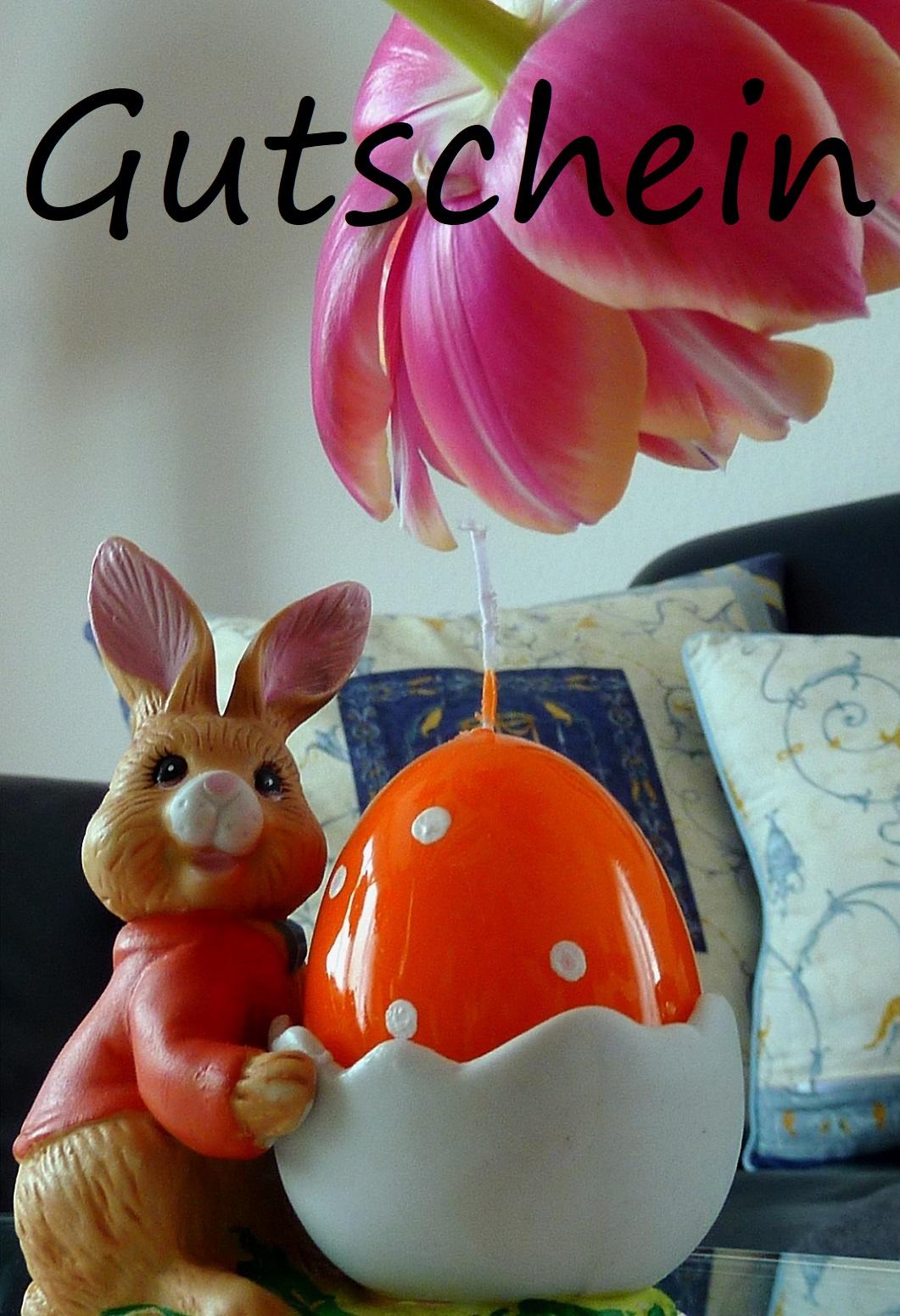 Gutscheinvorlage für Ostern