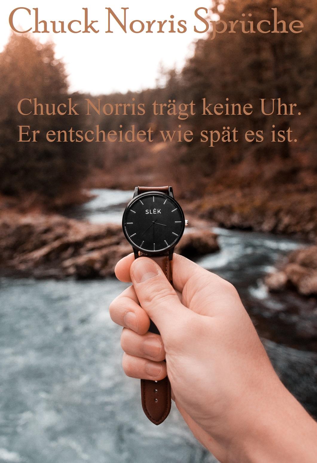 Chuck Norris Spruch verwenden