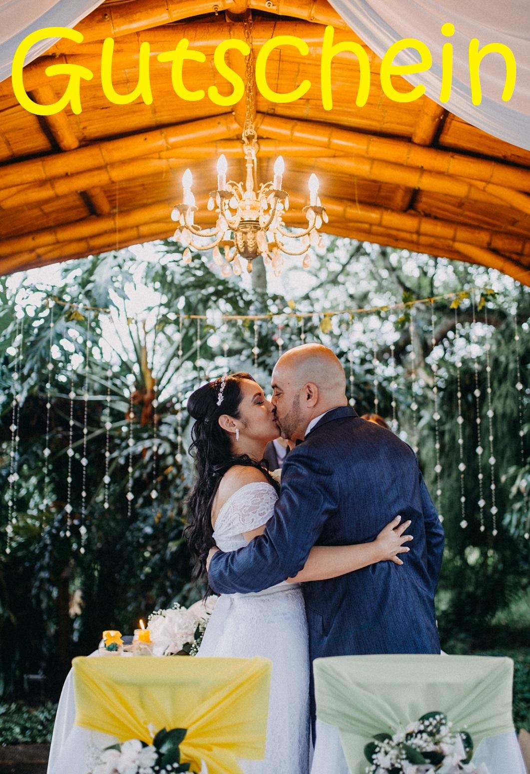 Gutscheinvorlage zur Hochzeit