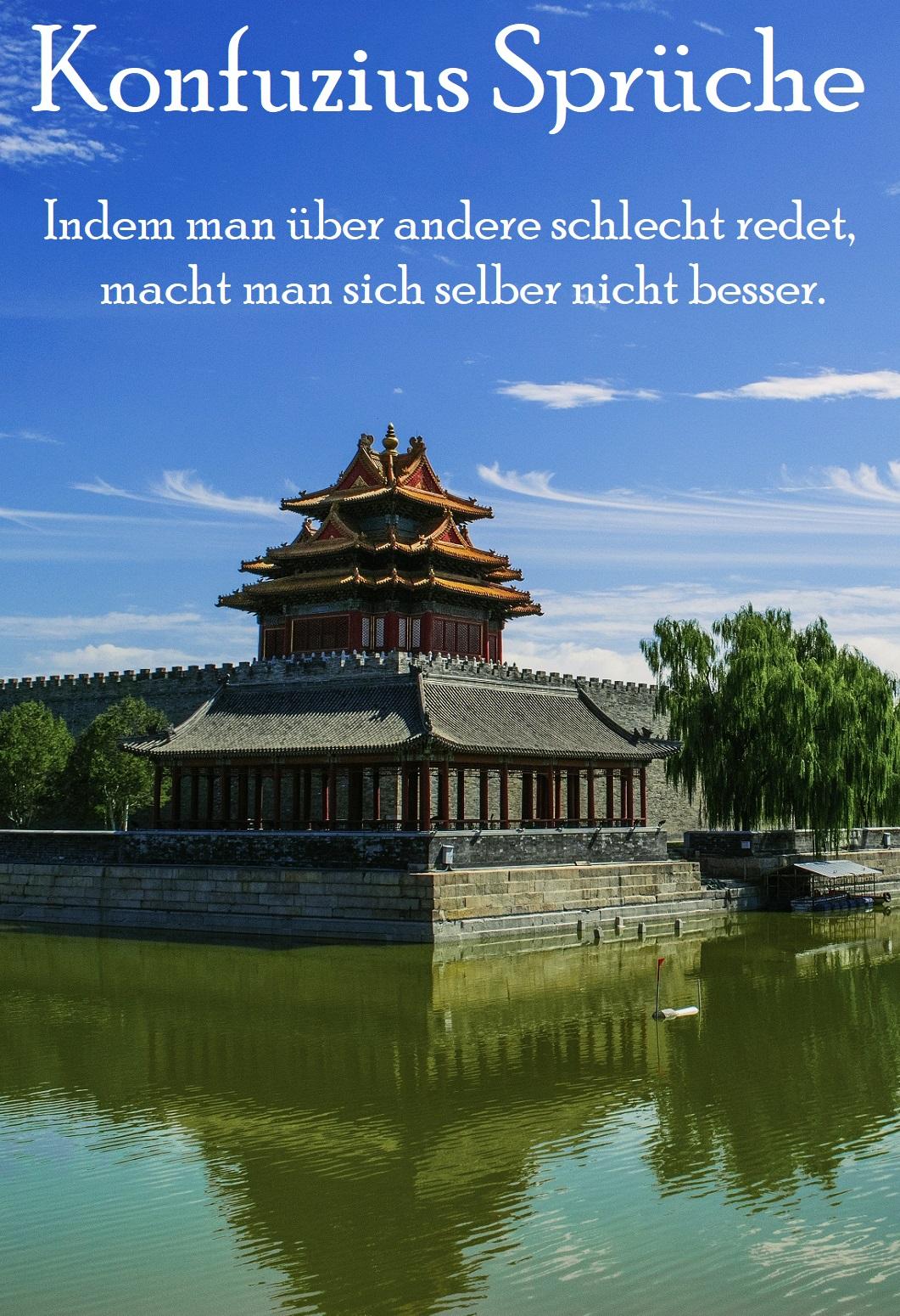 Konfuzius Spruch verwenden