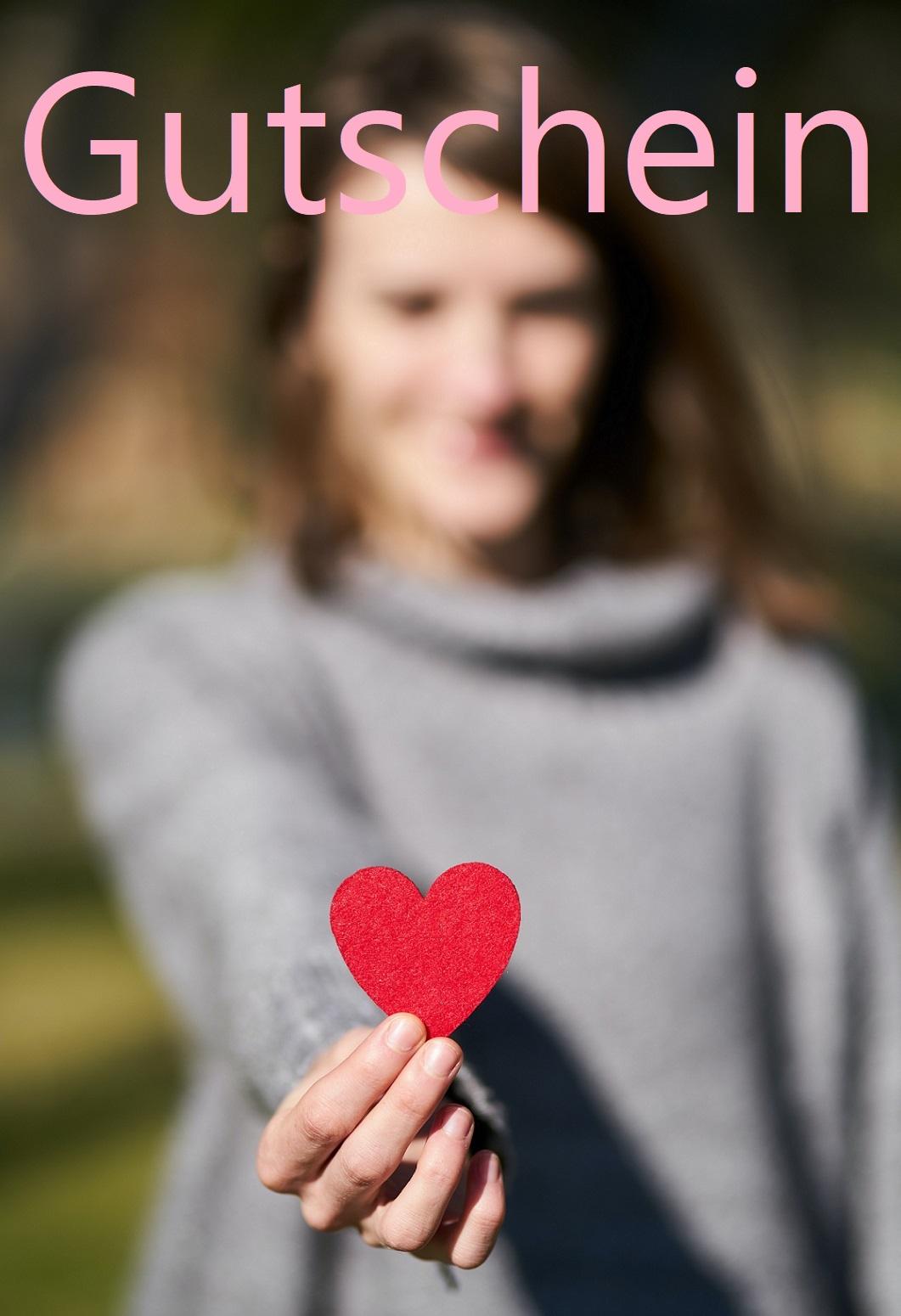 Romantische Gutscheinvorlage