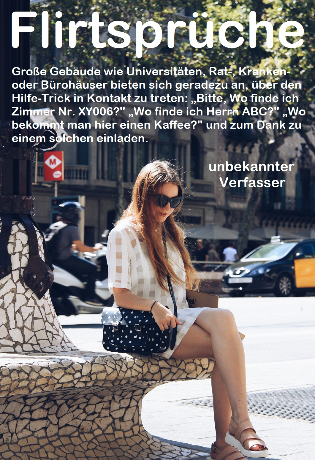 Sprüche zum Flirten verwenden - Teil 2 | Gutscheinspruch.de