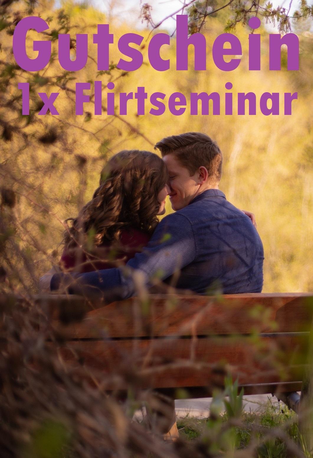 Gutscheinvorlage für Flirtseminare