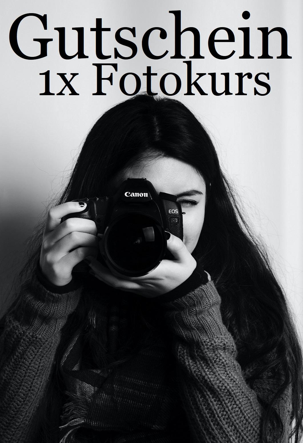 Gutscheinvorlage für Fotokurse