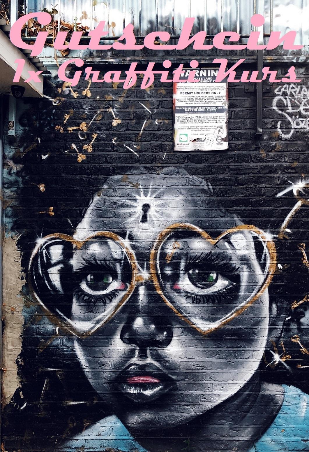 Gutscheinvorlage für Graffiti Kurse