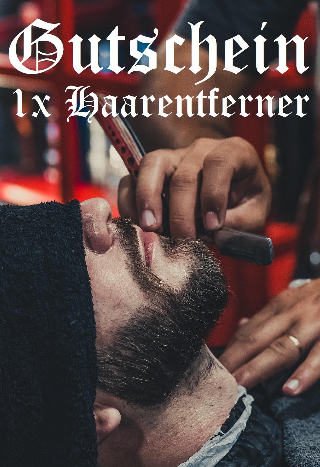 Gutscheinvorlage für Haarentferner