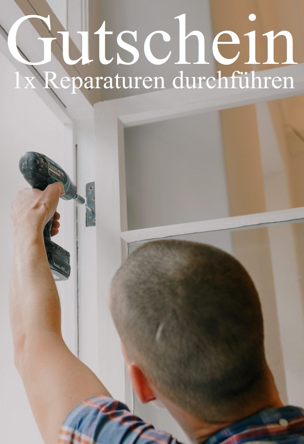 Gutscheinvorlage für Reparaturen