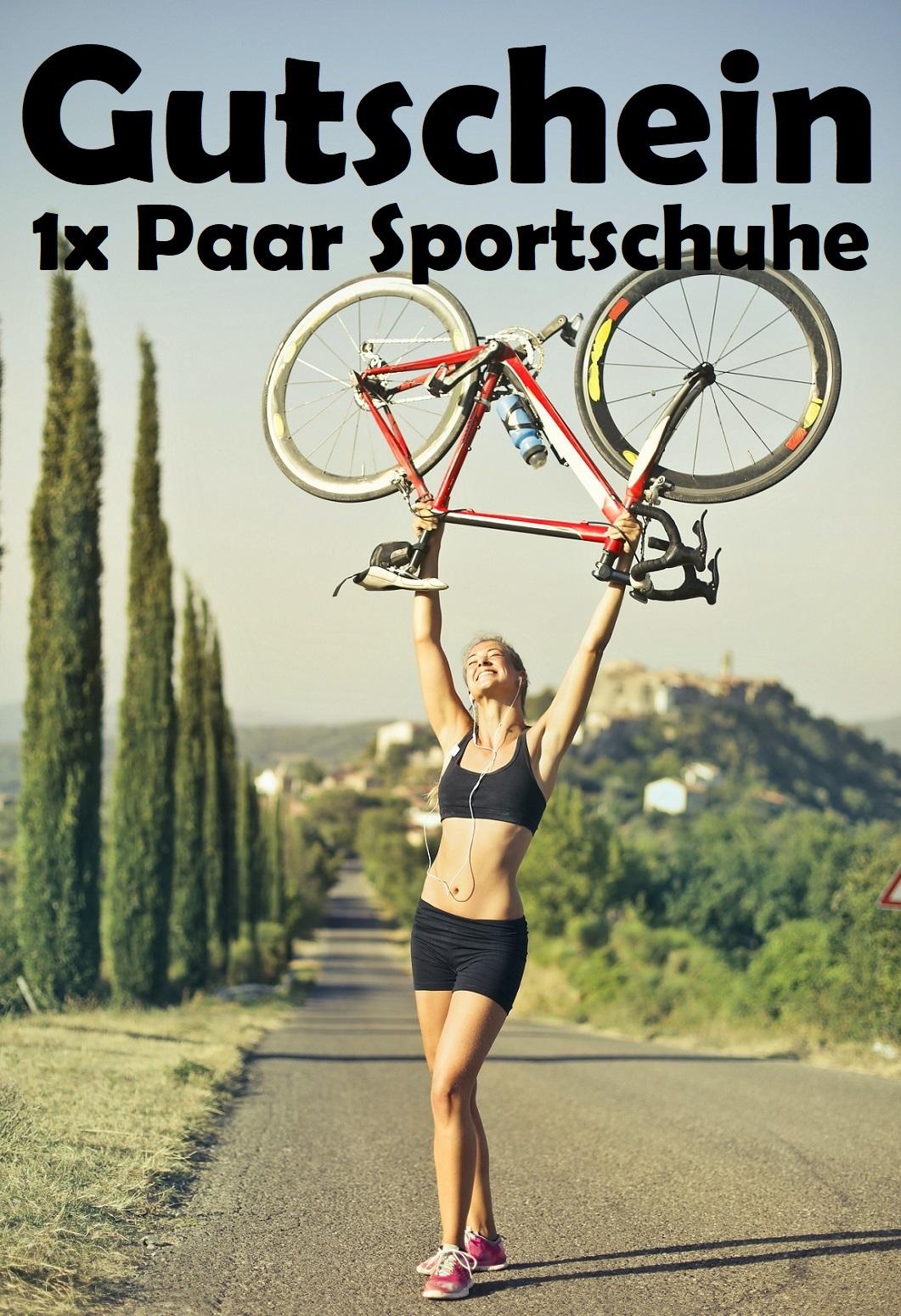 Gutscheinvorlage für Sportschuhe
