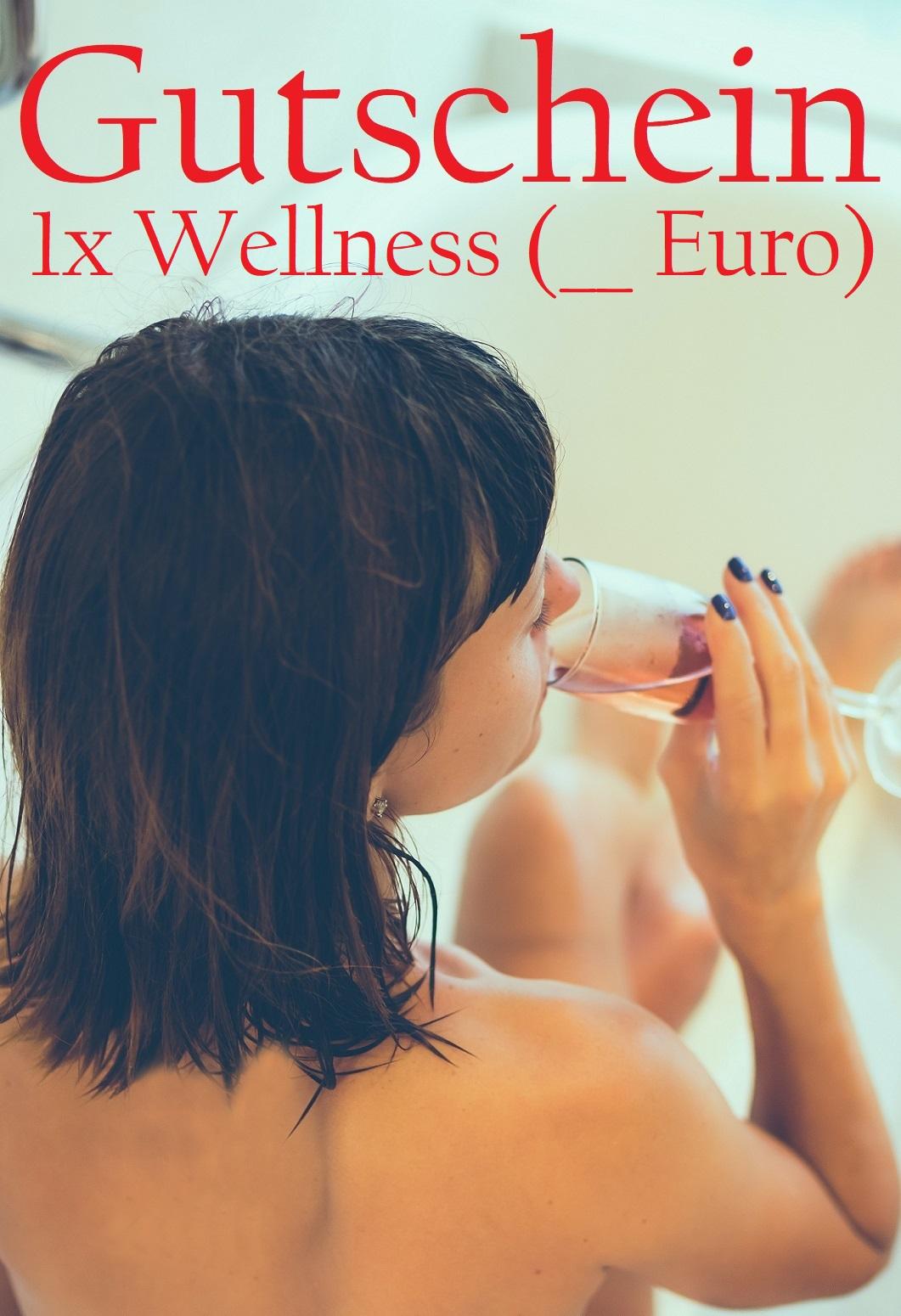 Gutscheinvorlage für Wellness