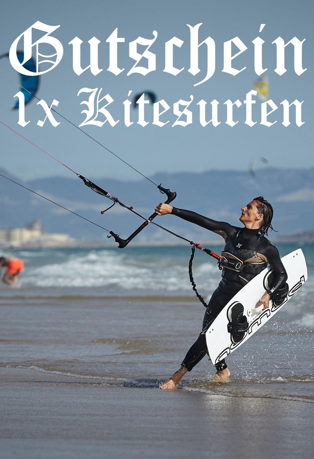 Gutscheinvorlage fürs Kitesurfen