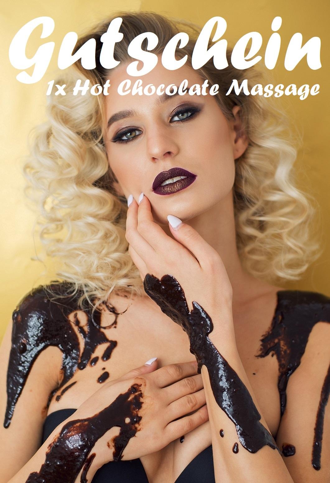 Gutscheinvorlage für Hot Chocolate Massagen