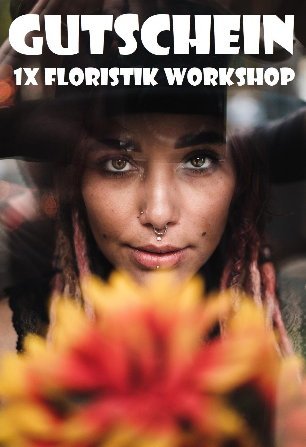 Gutscheinvorlage für Floristik Workshops