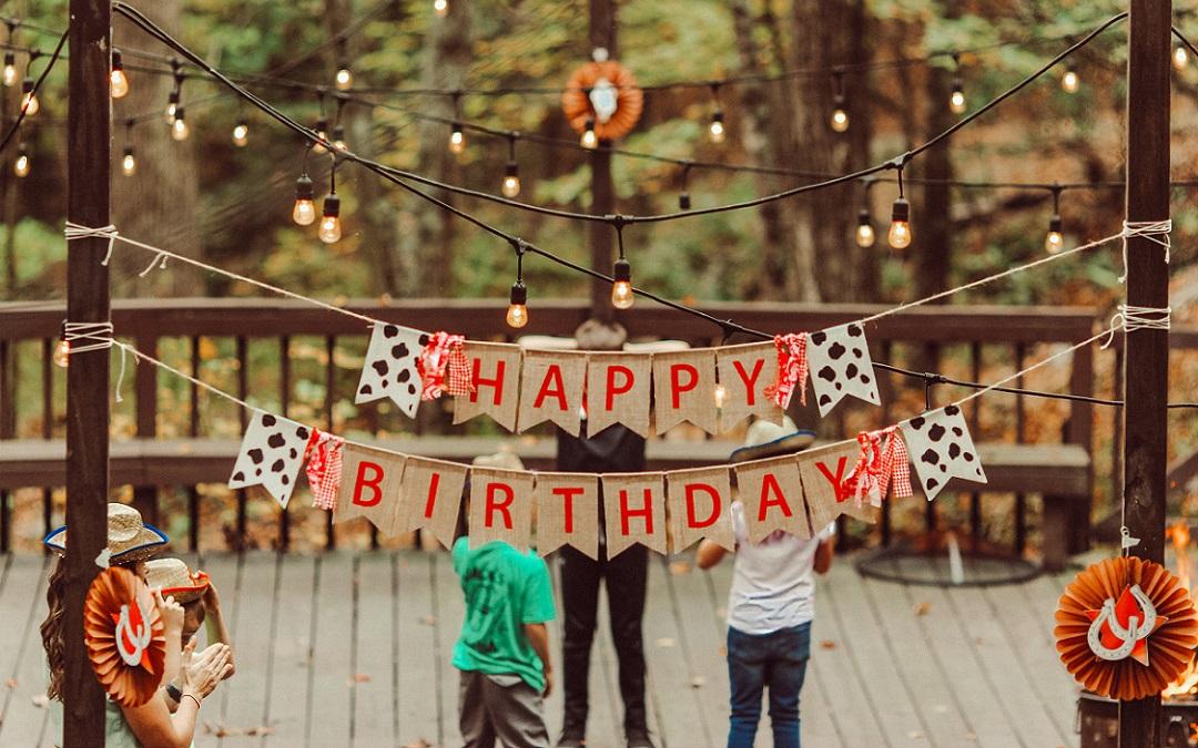 Kindergeburtstage feiern