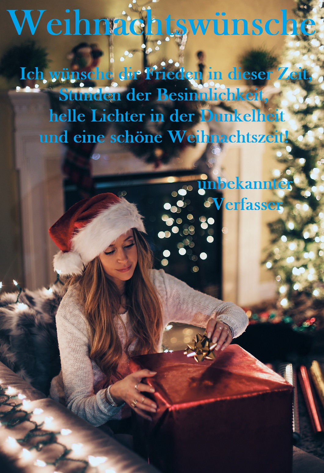 Weihnachtswünsche senden